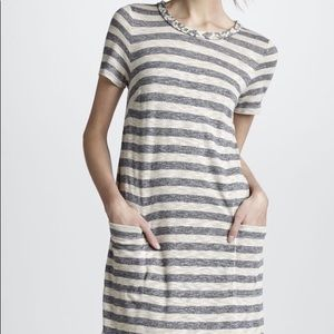 Marc by Marc Jacobs Pebble Stripe Tee Dress L